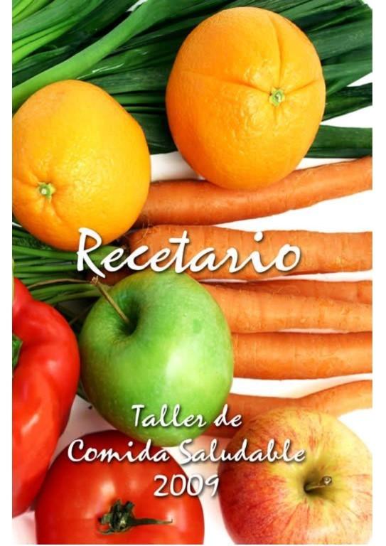 Recetario Saludable 2009